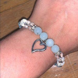 Jewelry - Aqua Heart Bracelet